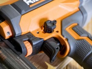 Ridgid 18-Gauge Finish Nailer with Clean Drive R213BNF
