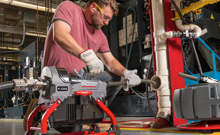 Ridgid K-5208: The Most Powerful Compact Sectional Machine for Plumbers