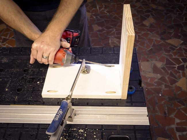 pulling the pieces together with pocket hole joinery