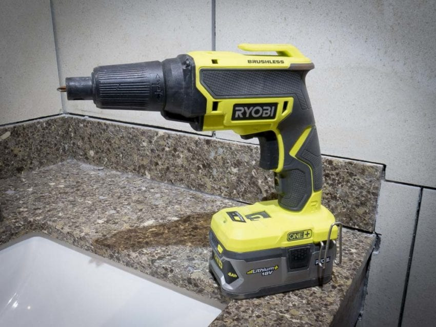 Ryobi Drywall Screw Gun: The Cordless, Brushless, Quiet P225