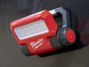 Milwaukee Rover Pivoting Flood Light 2114