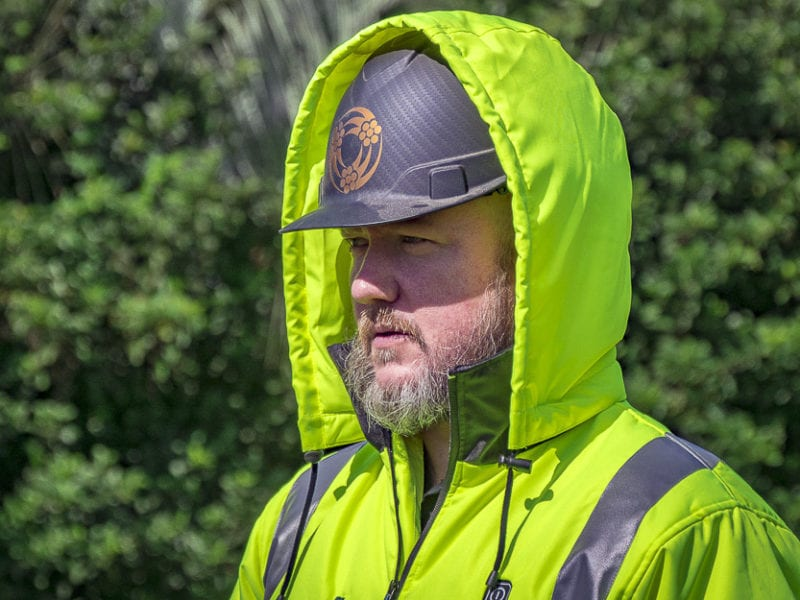 Makita Hi-Viz Heated Jacket