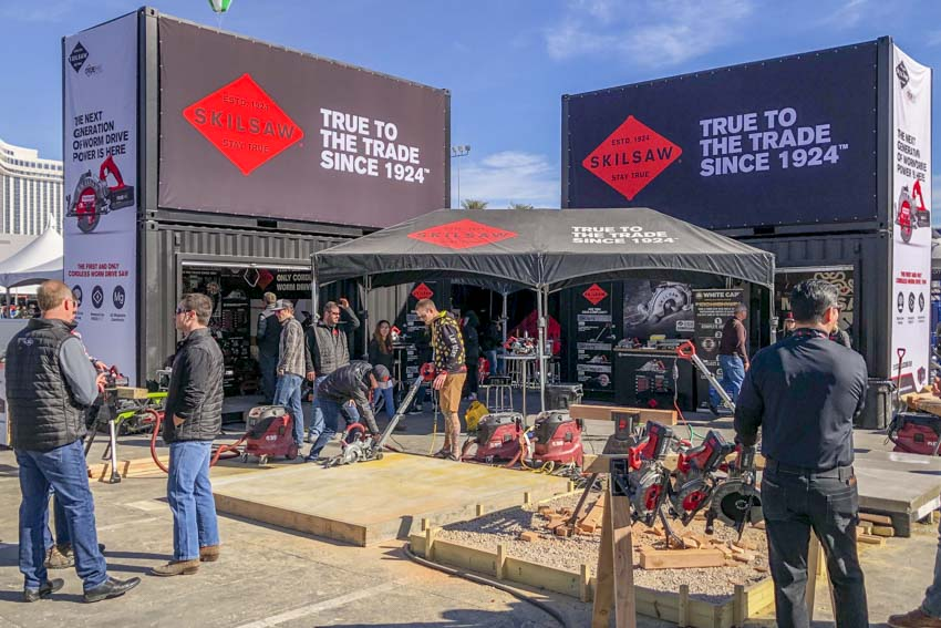 Best Skilsaw Tools at World of Concrete 2020
