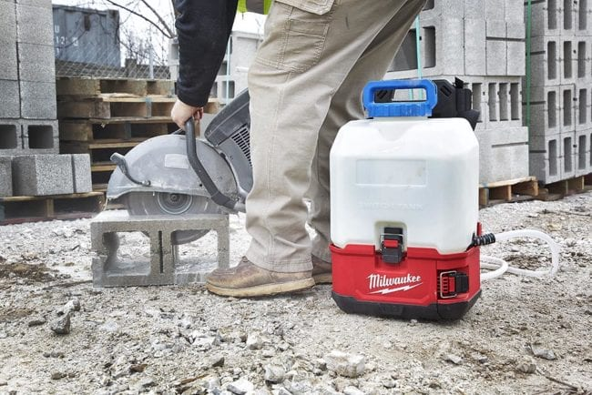 Milwaukee M18 Switch Tank Interchangeable Sprayer System