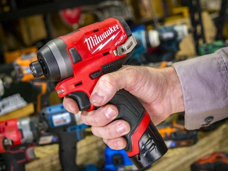 Best 12V Cordless Impact Driver Speed - Milwaukee M12 Fuel Impact Driver