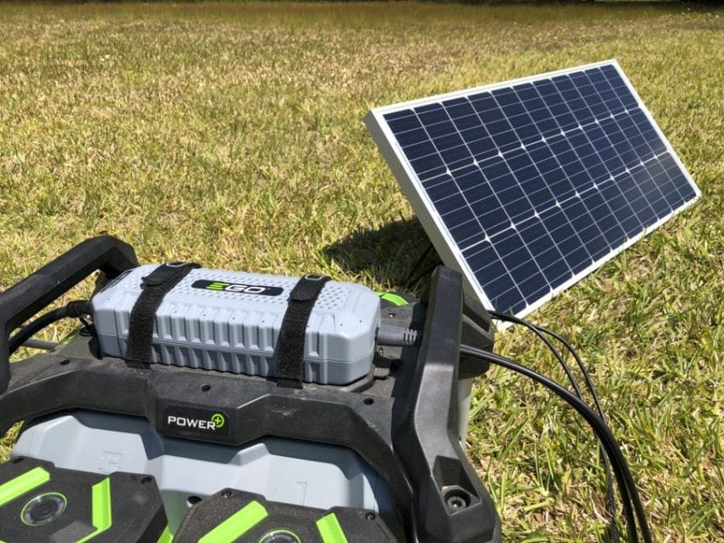 EGO Nexus Power Station with Solar Adapter