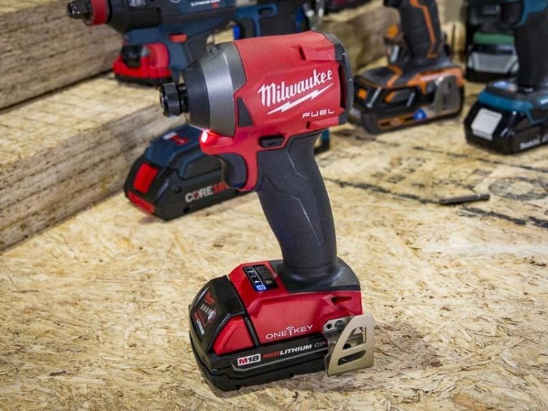Best Milwaukee Impact Driver | Milwaukee M18 Fuel Impact Driver with One-Key