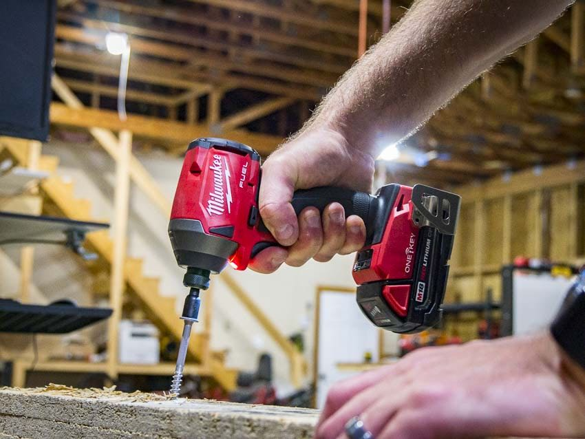 Milwaukee M18 Fuel Impact Driver with One-Key