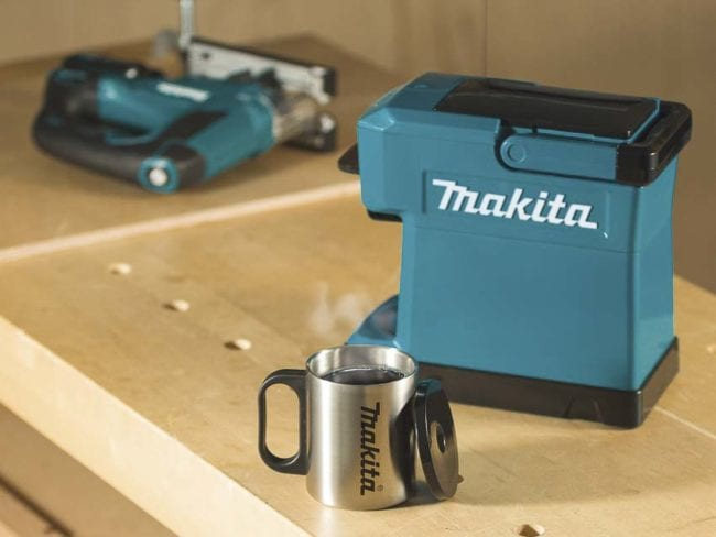 Makita Coffee Maker Gets An Update Dcm501 Pro Tool Reviews
