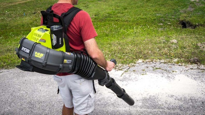 Ryobi Backpack Blower Gets a Cordless Upgrade RY40440