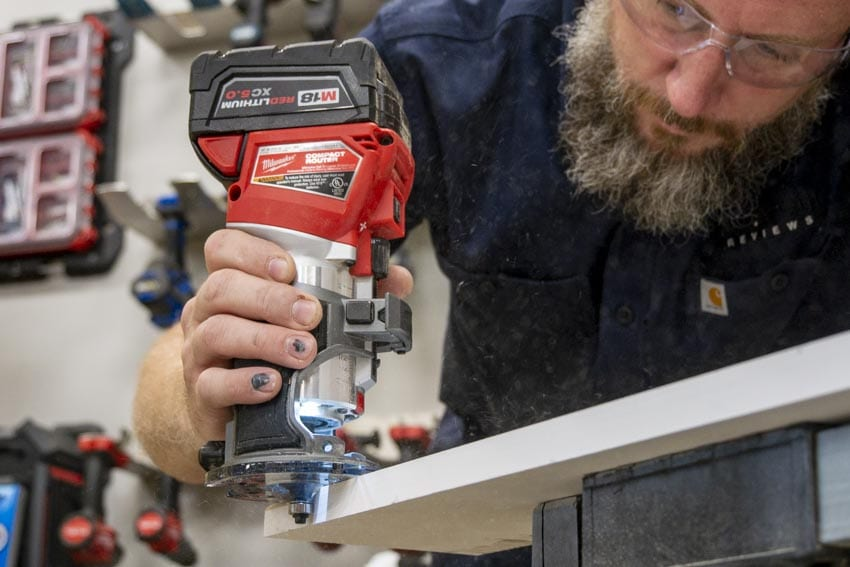 Milwaukee M18 Fuel Cordless Compact Router Review