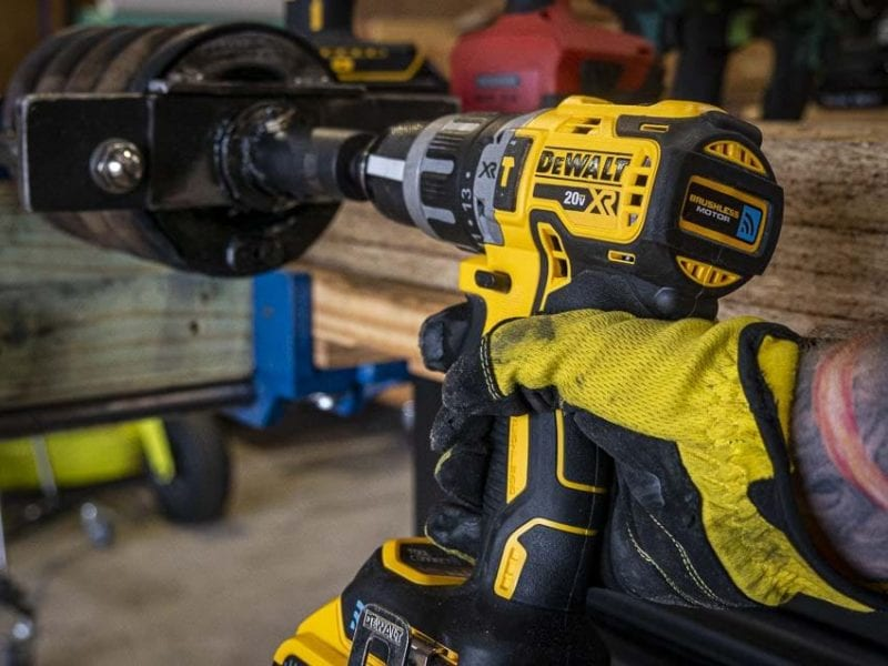 best DeWalt drill for home use DCD797