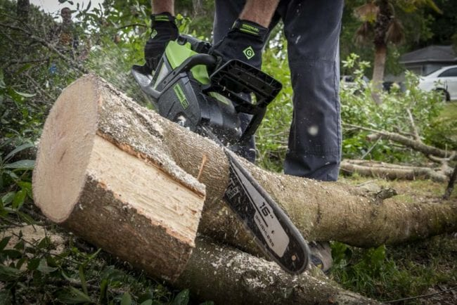 Greenworks 60V Chainsaw CS60L212