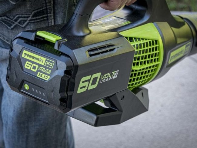 Greenworks 60V Blower BL60L2510 Review