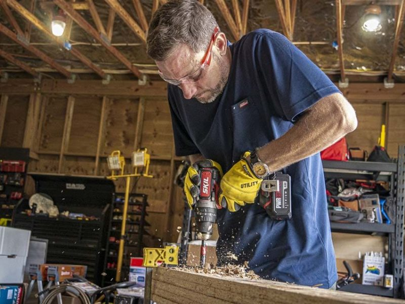 Skil PWRCore20 Heavy-Duty Brushless Hammer Drill Review Speed Test