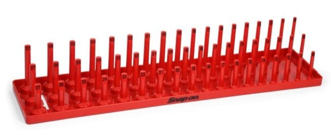 Snap-on socket tray