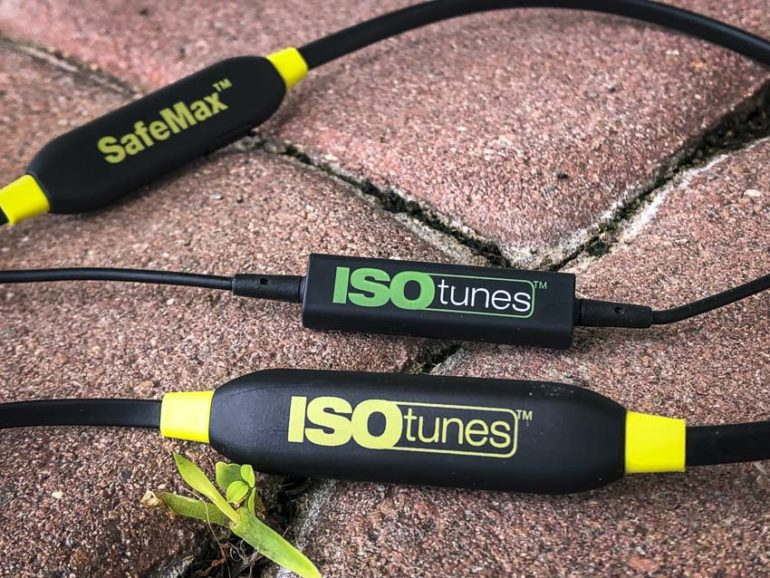 isoTUNES Xtra battery runtime