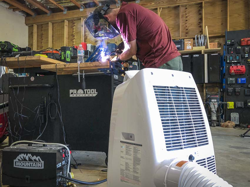 Honeywell Portable Air Conditioner welding