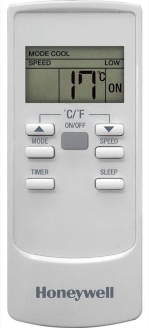 Honeywell air conditioner remote control