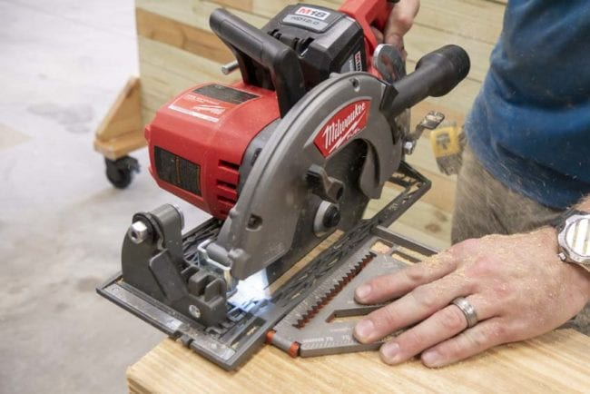 Milwaukee M18 FUEL Rear Handle Circular Saw Hands-On Review