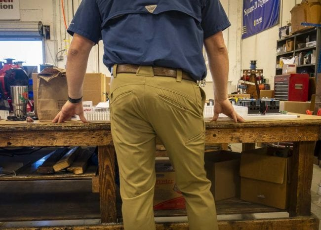 1620 Shop Pant slanted pockets