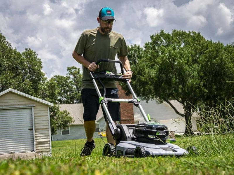 EGO 56V Peak Power Self-Propelled Lawn Mower