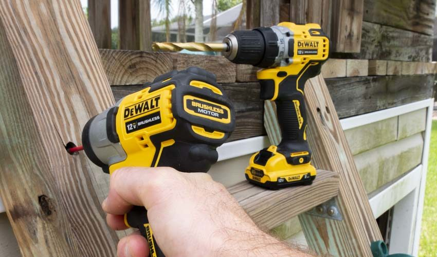 DeWalt 12V Brushless Drill and Impact Driver Combo Review