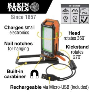 Klein Tools Rechargeable Personal Work Light