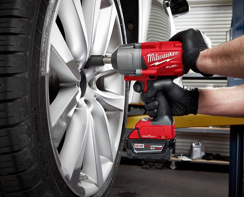 Milwaukee Controlled Torque Impact Wrench