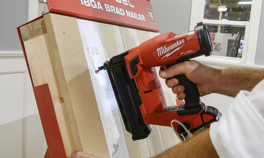 Milwaukee M18 FUEL 18ga brad nailer