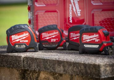 Milwaukee Wide Blade Tape Measures Have Longer Standout