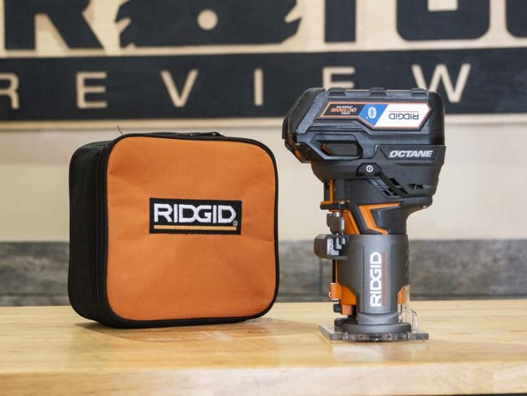RIDGID Octane cordless compact router