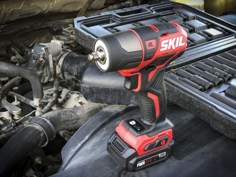 Skil PWRCore 12 Brushless Impact Wrench Profile