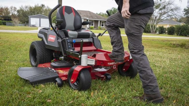 Toro Timecutter ZT step through front end