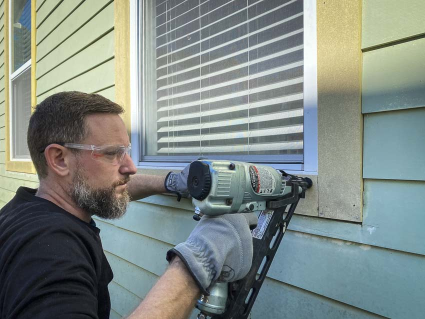 How to Replace Exterior Window Wood Trim with HardieTrim Boards