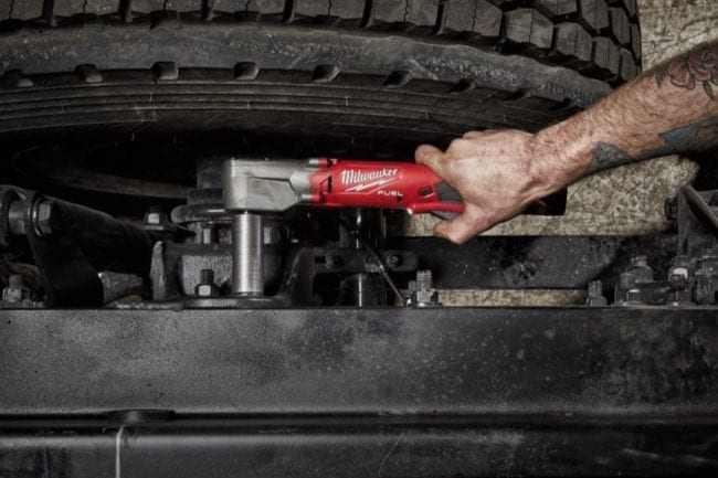 Milwaukee M12 Fuel Right Angle Impact Wrench