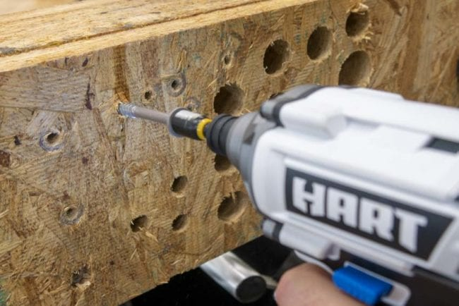 Hart Tools 4-Tool Combo Kit Hands-On Review – Impact Driver