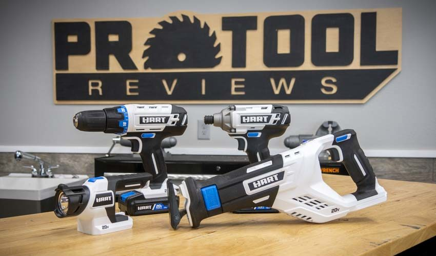 Hart Tools 4-Tool Combo Kit Hands-On Review