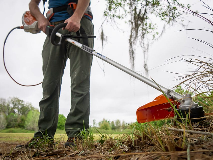 Stihl Battery String Trimmer Hands-On Review | FSA 130 R