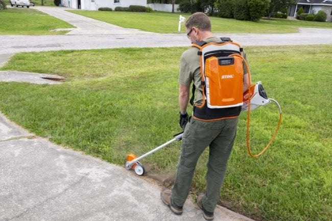 best battery-powered weed wacker attachment systems