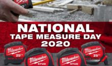 Milwaukee Tool National Tape Measure Day Giveaway