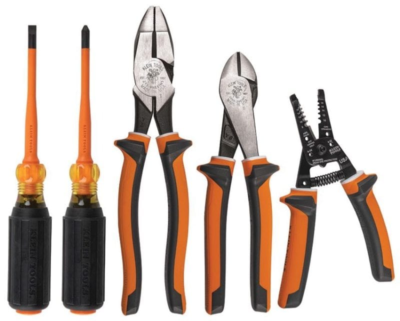 Best Insulated Pliers klein tools 94130 kit