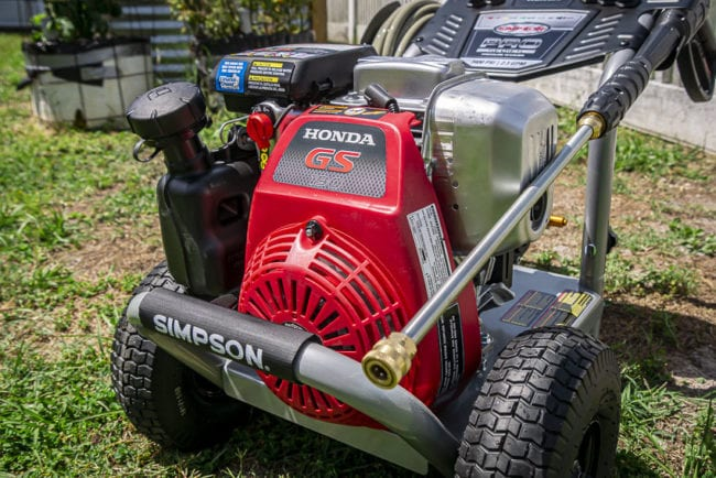 Simpson 3400 psi pressure washer