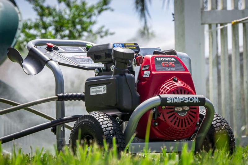 Best Pressure Washer for the Money | Simpson Pressure Washers