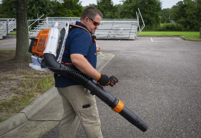 best professional backpack blower Stihl BR 800 C-E