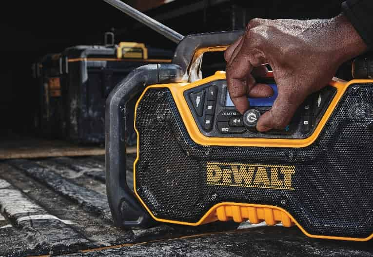 DeWalt Bluetooth Jobsite Radio