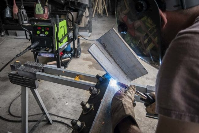 Forney 220 MP MIG welding