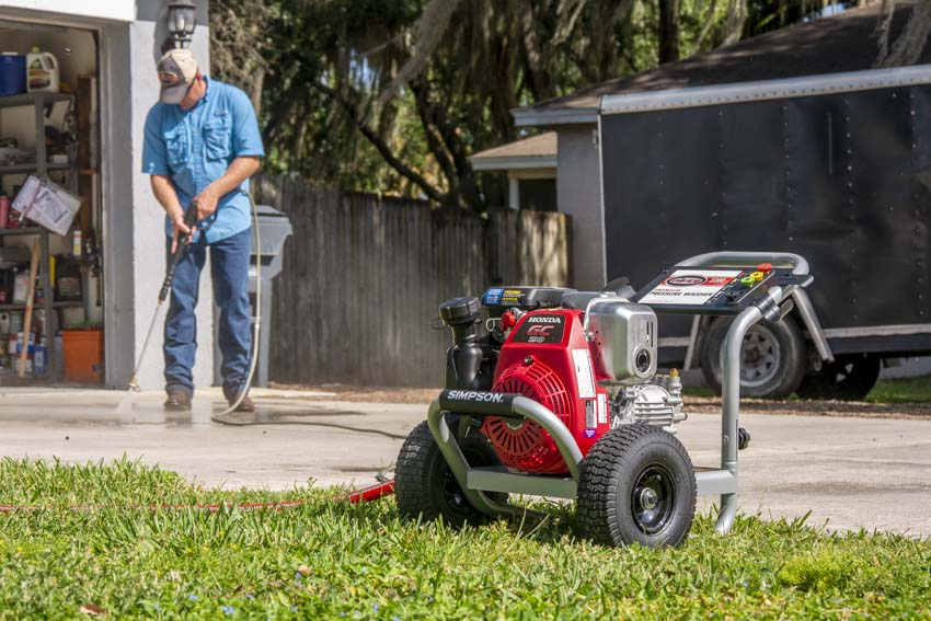 Simpson Megashot 3300 PSI Pressure Washer Review MS60921