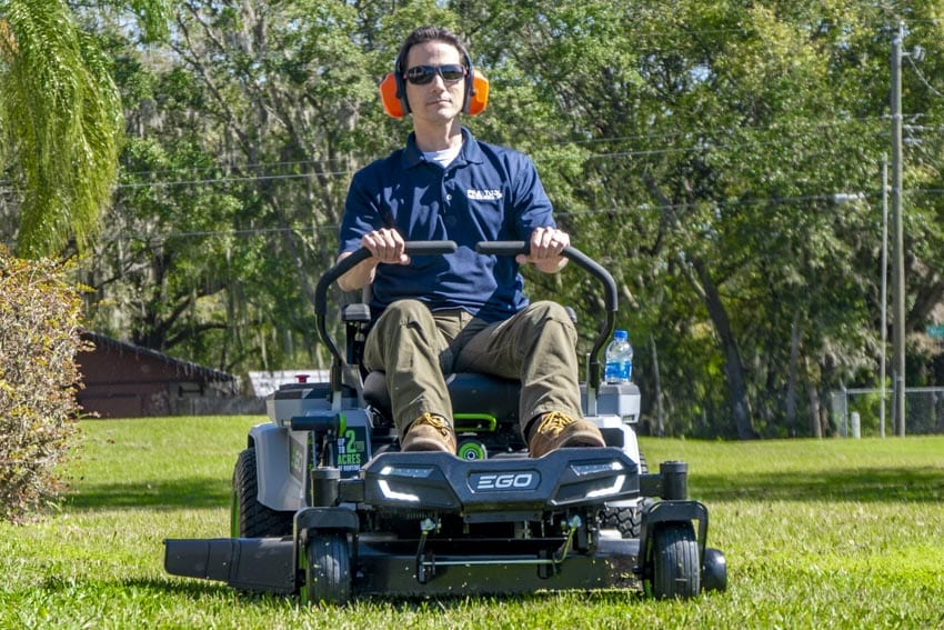 EGO Lawn Mower Reviews EGO Z6 Zero Turn Lawn Mower