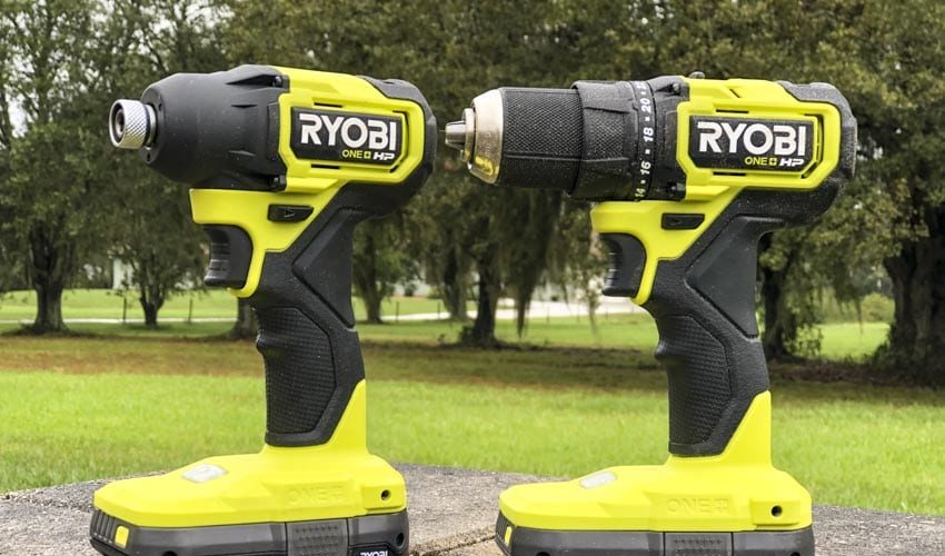 Ryobi 18V One+ HP Compact Brushless Drill and Impact Driver Combo Review PSBCK01K